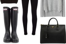 Hunter Boot Outfit Inspiration / Outfit Ideas & Inspiration Using Hunter Boots | Hunter Boot Outfit Inspiration | Using Hunter Boots in Your Outfit | Inspired by Hunter Boots | http://mylifefromhome.com/