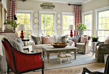 English Country / Elegant rustic decor with English country flair