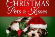 Christmas Pets and Kisses Romance Box Set / 16 Multi-author Sweet Romance Christmas stories with pet themes