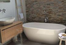 Badkamerideeen / Badkamer #losstaand #bad #landelijk