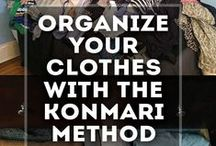 Clothing & Closet Organization / Organizational Ideas for Clothing & Closets | KonMari Method | Organizing Everything | Clothing & Closet Organization | http://mylifefromhome.com/
