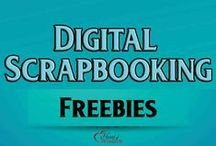 Digital Scrapbook Freebies / Digital Scrapbooking Freebies kits,    project life journaling cards, wordart, templates, tutorials, downloads / by Heart of Wisdom