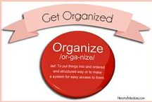 Organizing / by Robin Sampson