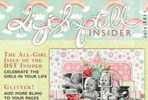 Digital Scrapbook Magazines / by Robin Sampson