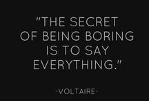 Words.  / by Elizabeth Chatterton