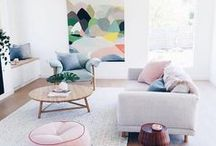 Living Rooms / Modern design inspiration for living rooms and family rooms.