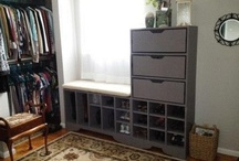 Favorite Places & Spaces--> My Dressing Room is Finally Completed / This is my summer project. Thanks for the help Wayne and Terry Mott!  / by Denise Mott