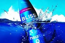 neuro BLISS / Say hello to neuro BLISS, the very first functional drink of its kind. BLISS was specially formulated by our team of scientists to help you relax, unwind, and recenter. Its proprietary, lightly carbonated blend of tropical citrus lychee flavors delivers a dose of Zen whenever you need it.