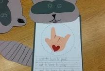 teaching Kissing Hand / by Kelli Holmes