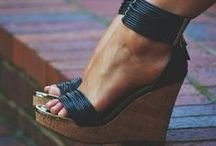 HEAD OVER HEELS / Boots, Sandals, Wedges, Heels, and Booties! / by Paige Stuart