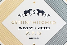 Amy and Joe's Urban Western Wedding / When an incredible Minneapolis Wedding Planner designs her own Wedding, the results are original, creative and ultra chic!