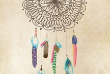 dreamcatchers and string/fabric arts / by Amber Lewis