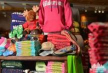 Retail / Whether you forgot sunscreen, need a sweatshirt or are looking for a souvenir, Wilderness Territory has several boutique retail stores on site.