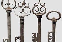 KNOBS,KEYS,LATCHES,FENCES,GATE,LOCKS / by Art By Laura