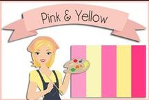 Color: Pink & Yellow / by Heart of Wisdom