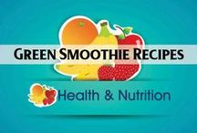 Health & Nutrition: Green Smoothies / Green smoothies recipes / by Heart of Wisdom