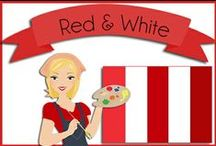 Color: Red & White / Red and White and/or Red and Black color combos / by Robin Sampson