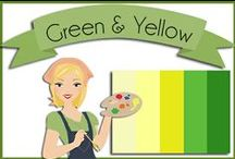 Color: Green & Yellow / by Robin Sampson