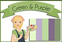 Color: Purple & Green / by Robin Sampson