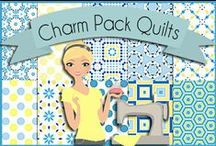 "Quilting: Charm Quilts / Quilts created with 5"" square charm packs / by Heart of Wisdom"