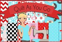 Quilting: Quilt as You Go QAYG / by Robin Sampson