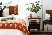 Bedrooms / Modern decorating inspiration for casual bedrooms.