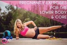 PREGNANCY FiTNESS! / Pregnancy exercises / by Paige Stuart