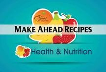 Health Recipes: Meal Prep / Make Ahead, Prepare Ahead Convenient Healthy Fast Food, Freezer Meals, Muffin Meals Keeping lunch and dinner at 4 oz protein and 4 serving vegetables, 3 fats.  / by Heart of Wisdom