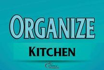 Organize: Kitchen / DIT Kitchen Organizing Ideas Pantry, Under Sink, Fridge, etc / by Heart of Wisdom
