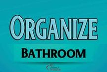 Organize Your Bathroom / Tips and Tricks to Organizing Your Bathroom #Storage / by Heart of Wisdom