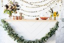 Food + Drink Tables / party food table, party appetizer table, party drink table, wedding food table, buffet table, wedding appetizer table, wedding drink table, wedding bar, party bar