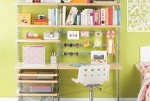 Book Nooks / Space/cupboards to keep books