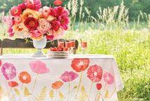Bright wedding ideas