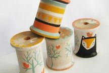 CRAFTS - SPOOLS OF THREAD / by Diane