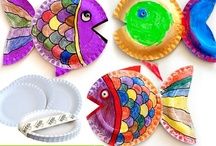CRAFTS - PAPER PLATE CRAFTS / by Diane