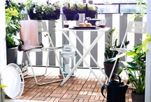 Ideas for the Garden / It's never too early to start dreaming about sunnier climes. Our range of garden furniture is designed to help you make the most of your outside space. Whether you have a spacious lawn, a compact patio or a balcony, we have a range of outdoor furniture designed to get the most out of your space.  / by IKEA UK