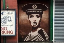BlickeDeeler • StreetArt - Inspiration / Umsonst und draußen! Kunst für jeden und überall, dass ist das Ziel vieler Künstler weltweit. Wünsche viel Spaß betrachten der hier gepinnten urbanen Gallerien / by BlickeDeeler Werbeagentur
