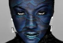 BlickeDeeler • Painted Face & Full Bodypainting - Inspiration / BodyPaintings aus aller Welt www.BlickeDeeler.de / by BlickeDeeler Werbeagentur