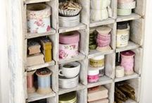 ♥ pretty storage / by Free Pretty Things For You