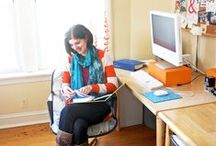 Welcoming Workspaces / Inspiring workspaces and office décor