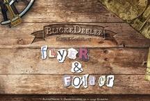BlickeDeeler • Flyer & Folder - Portfolio  / Ob einfacher Flyer, Imagebroschüre, Folder oder anderes gedrucktes, begleitendes Material für Ihre Kampagne.  Wir sind Ihr perfekter Partner für ihr Werbung! www.BlickeDeeler.de / by BlickeDeeler Werbeagentur