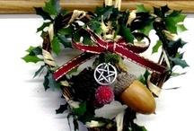 Yule Decorations. / by Bryan J. Beatty