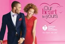 Our Heart To Yours / We proudly support the American Heart Association's My Heart. My Life.™ Initiative. Join us, and promote heart health by wearing red all month long. / by Belk
