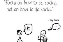 Social Media Quotes / Great and inspired quotes about social media marketing.  / by Isaac A Wardell