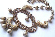 Victorian inspired handmade jewelry