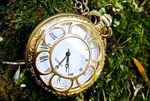 ALICE IN WONDERLAND - CLOCKS GO TICK TOCK / by Diane