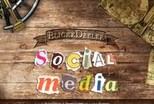 BlickeDeeler • Social Media - Portfolio / Social Media ist kein Fremdwort, aber es fehlt Ihnen an Zeit und Know-how? Wir stehen Ihnen auch in diesem Bereich des Marketings gerne beratend zur Seite und helfen Ihnen bei der Strategieentwicklung und der Profilerstellung in den wichtigen sozialen Netzwerken. Mehr Infos dazu, sowie unser Impressum gibt es auf www.BlickeDeeler.de / by BlickeDeeler Werbeagentur