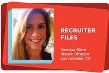 TCG Recruiter Files / The Recruiter Files gives you a glimpse into our world as staffing and recruiting professionals.
