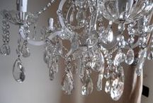 A petit chandelier for my daughter / This is to tell how a vintage petit chandelier was repurposed