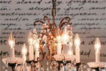 Dream Chandeliers / by Tammy Maltby /www.tammymaltby.com